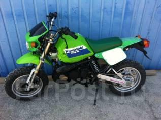 Kawasaki KSR80. 49 куб. см., исправен, птс, без пробега