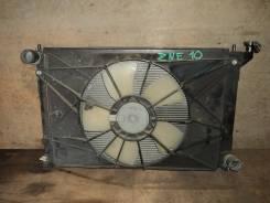 Радиатор охлаждения двигателя. Toyota: Wish, Opa, Caldina, Allion, Premio, Scion Двигатели: 1ZZFE, 1AZFE, 1AZFSE, 1NZFE, 2AZFE