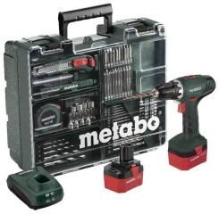 Аккумуляторный винтоверт Metabo BS 12 (450-1500 об/мин 1.7А/ч)