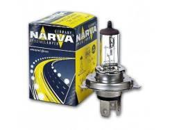 Лампа освещения H4 12V 60/55W Narva 48881 9098122003,9098113058