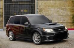 Обвес кузова аэродинамический. Subaru Forester, SH, SH5, SHJ, SH9L, SH9, SHM