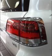 Накладка на стоп-сигнал. Toyota Land Cruiser, URJ202W, URJ202, J200, VDJ200 Двигатели: 1URFE, 3URFE, 1VDFTV