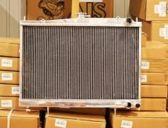 Радиатор охлаждения двигателя. Nissan Laurel, GC34, GCC34, GNC34 Nissan Skyline, ECR33, ENR33, ER33 Двигатели: RB25DE, RB25DET