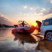 Аренда катера, активный отдых на воде в Хабаровске. 6 человек, 60км/ч
