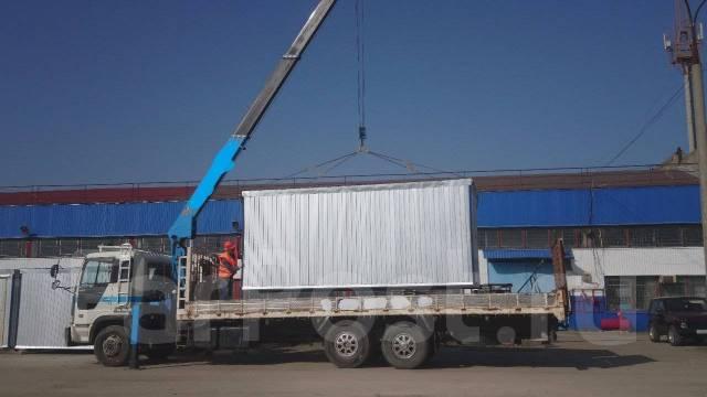 Hino Profia. Манипулятор HINO, 17 000 куб. см., 10 000 кг.