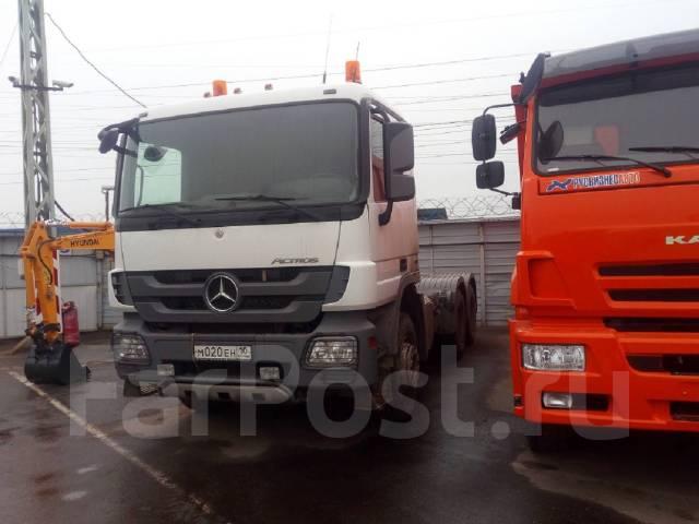 Mercedes-Benz Actros. Mercedes-BENZ Actros 3341S 6Х4 бу (2013 г., 320 000 км. ), 5 000 куб. см., 40 000 кг.