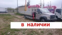 ГАЗ ГАЗон Next. Новый Газон Некст с КМУ UNIC URV-374 /официальный дилер, 4 700куб. см., 5 000кг., 4x2