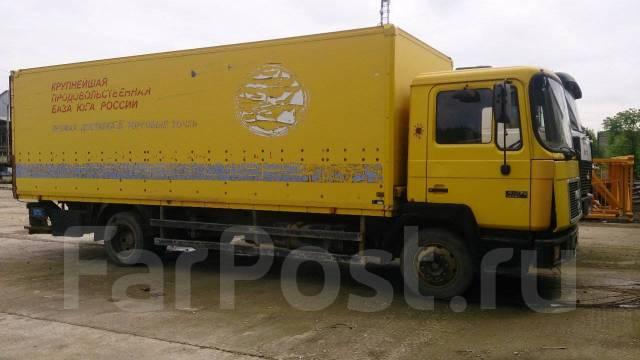 MAN. 14.272 фургон, 1 231 куб. см., 7 000 кг.