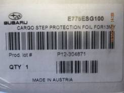 Накладка на бампер. Subaru