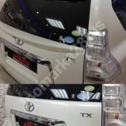 Спойлер на заднее стекло. Toyota Land Cruiser Prado