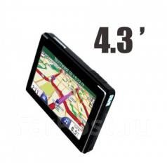 Автомобильный GPS-навигатор 4.3 дюйма