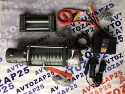Лебедка автомобильная Electric Winch 12v 9500LBS Трос 8мм длина 27м. Subaru Sambar Electric