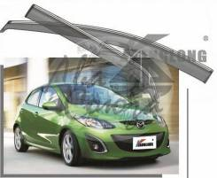 Ветровик на дверь. Mazda Mazda2 Mazda Demio