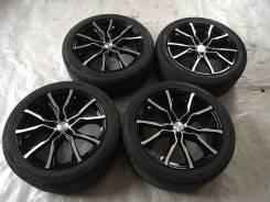 Продам колеса в сборе на дисках KiK R17 или обменяю на R16. 7.5x17 5x112.00 ET51 ЦО 57,0мм.