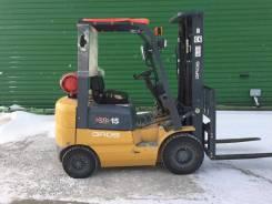 Gros. Продается вилочный погрузчик GROS CPQ D15-RC (двигатель п-во Япония), 1 500кг., Бензиновый