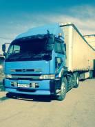 Nissan Diesel UD. Седельный тягач Nissan UD, 21 000 куб. см., 25 000 кг.