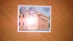 Почтовая марка 1978год Куба (3). Негашеная