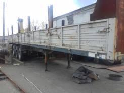 МАЗ 975800. Полуприцеп МАЗ 9738, трехоска 2007г 13.6 метра, 28 000 кг.