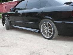 Порог пластиковый. Subaru Legacy B4