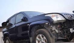 Передняя часть автомобиля. Toyota Land Cruiser Prado, RZJ120W, KDJ120W, RZJ120, LJ120, GRJ120, TRJ120, KDJ120, TRJ120W, KZJ120, GRJ120W Двигатели: 1GR...
