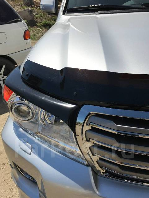 Накладка на фару. Toyota Land Cruiser, GRJ200, URJ200, UZJ200, UZJ200W, VDJ200