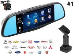 Зеркало - видеорегистратор Recxon RX-7 Android для штатной установки