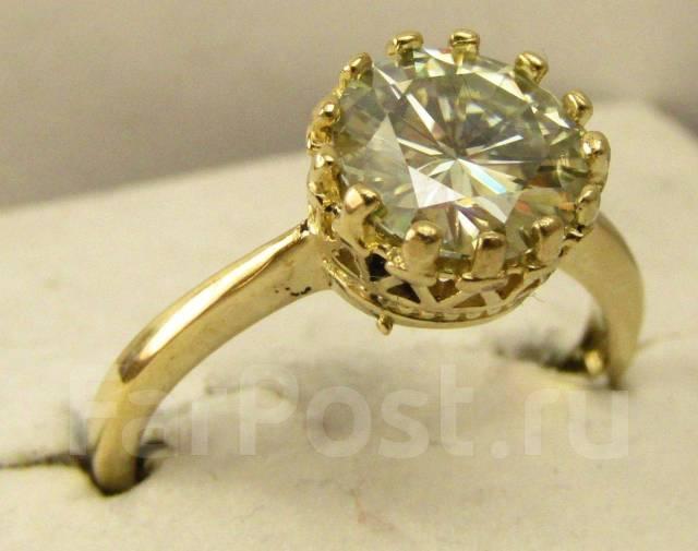 Кольцо с бриллиантом(муассанитом) - Ювелирные изделия во Владивостоке 9b62c2599ab