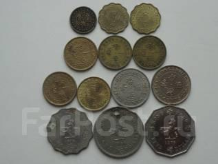 Гонконг подборка из 13 монет. Без повторов! Торги с 1 рубля!