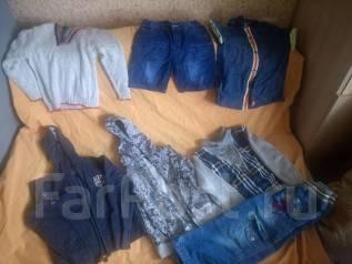 Пакет вещей на мальчика. Рост: 104-110, 110-116 см