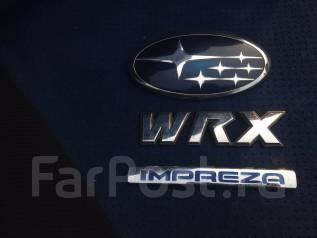 Эмблема багажника. Subaru Impreza WRX STI