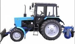 МТЗ 82. С пробегом трактор Беларус .1 (синий) с косилкой, отвалом, щеткой