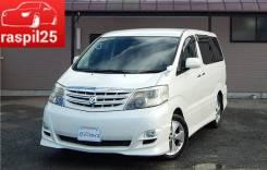 Toyota Alphard. автомат, 4wd, 2.4 (159 л.с.), бензин, б/п, нет птс. Под заказ