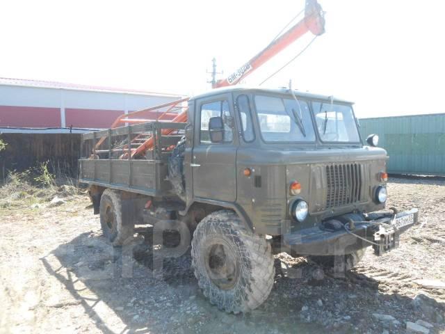 ГАЗ 66. Ямобур БМ-302Б на шасси ГАЗ-66, 4 250 куб. см., 1 250 кг.