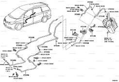 Трубка кондиционера. Toyota Tarago, GSR50, ACR50 Toyota Previa, ACR50, GSR50 Toyota Estima, GSR55, ACR50, ACR55, ACR55W, GSR50 Двигатели: 2AZFE, 2GRFE