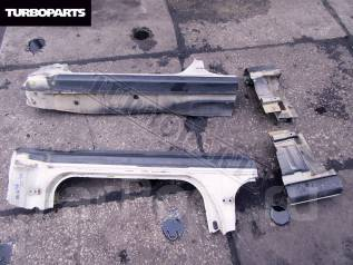 Порог пластиковый. Toyota Mark II, JZX91E, LX90Y, JZX90E, GX90, JZX90, LX90, JZX91, JZX93, SX90 Двигатели: 2LTE, 2JZGE, 4SFE, 1JZGTE, 1JZGE, 1GFE