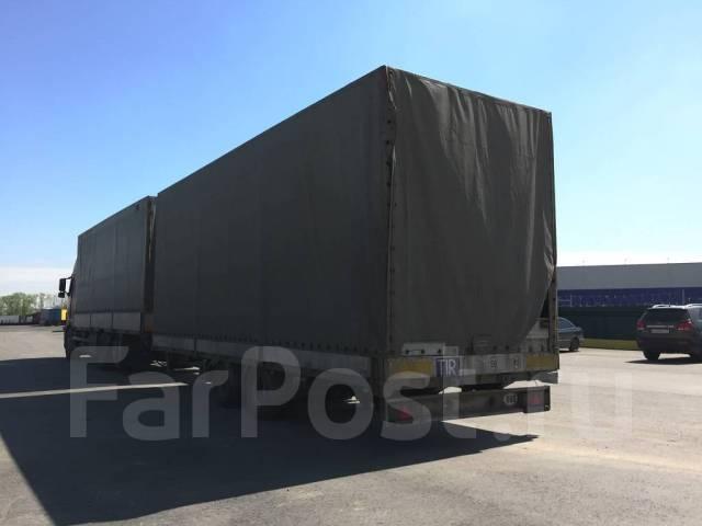 Volvo. Продам сцепку - бортовой грузовик Вольво FH1 + борт тент прицеп MONO, 12 130 куб. см., 13 900 кг.