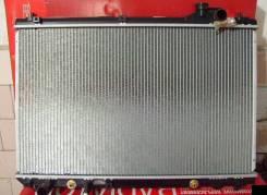 Радиатор охлаждения двигателя. Toyota Harrier, ACU30, ACU35 Двигатель 2AZFE