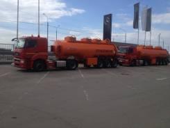 Камаз 5490. Продам сцепку бензовоз и тягач, 11 700 куб. см., 15 000 кг.