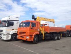 КамАЗ 65115. Продаётся КМУ 7 тонн на шасси Камаз 65115, 11 700куб. см., 12 000кг.