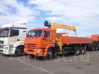 Камаз 65115. Продаётся КМУ 7 тонн на шасси , 11 700 куб. см., 12 000 кг.