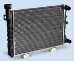 Радиатор охлаждения двигателя. Лада: 2105, 2106, 2101, 2102, 2103 Двигатели: BAZ2101, BAZ21011, BAZ2103, BAZ2104, BAZ2105, BAZ2106, BAZ341, BAZ4132
