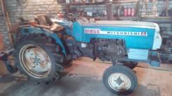 Mitsubishi. Продам трактор митсубиси с фрезой, куном, огрибалкой, копалкой., 3 000 куб. см.