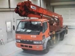 Aichi SJ240. Автовышка на базе MMC FUSO 1996год SJ240 25метров, 7 540 куб. см., 25 м.