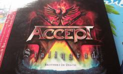 Audio CD. Accept. Stalingrad. 2CD. Brothers In Death. За 1 рубль!
