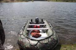 Продам лодку ПВХ с мотором 30 л/с. Год: 2013 год, длина 4,20м., двигатель подвесной, 30,00л.с., бензин