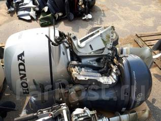 Honda. 115,00л.с., 4х тактный, бензин, нога L (508 мм), Год: 2012 год