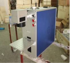 Оптоволоконный лазерный гравер по металлу JL-KA (10W). Под заказ
