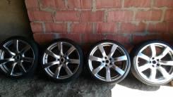 Rays от Nissan GT-R 35. 9.5/10.5x20 5x114.30 ET45/25 ЦО 66,1мм.