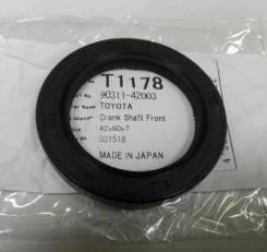 Сальник двигателя Musashi T1178 9031142030,9031142031