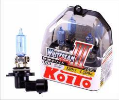 Лампа высокотемпературная Whitebeam, комплект 2 шт. 9005 (HB3) 12V 65W (120W) пластиков KOITO P0756W